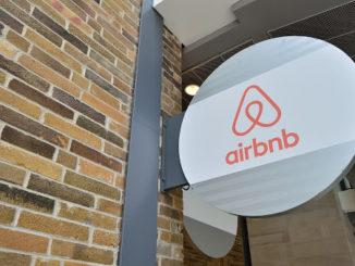Aimagem mostra escritório do Airbnb em Toronto